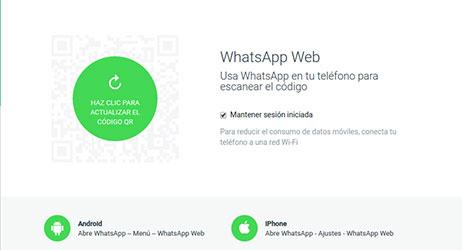 Cómo usar whatsapp en web I